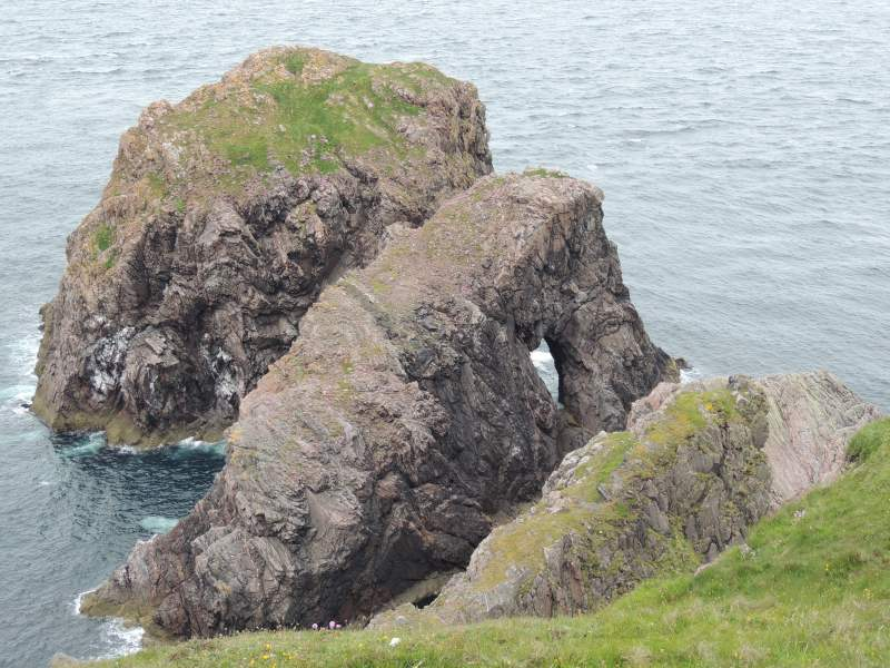 Klippen bei Cape Wrath