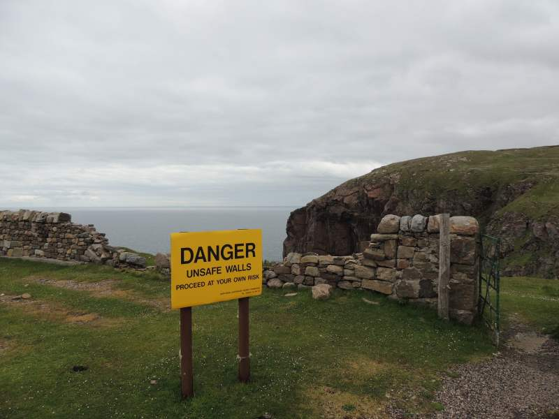 Danger of Cape Wrath